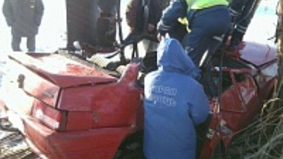 В Воронежской области «ВАЗ» улетел в кювет: пассажир погиб