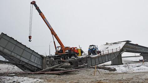 Безопасность временного моста в Борисоглебском районе во время паводка будет обеспечивать МЧС