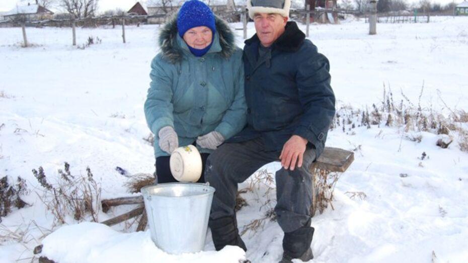 Житель Бутурлиновского района подарил односельчанам родник