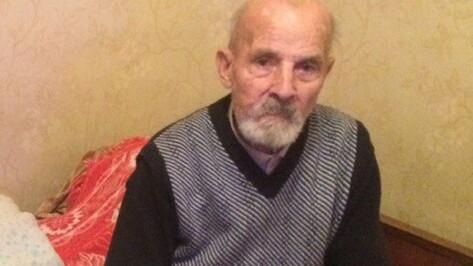 В Воронеже пропал страдающий потерей памяти 80-летний пенсионер