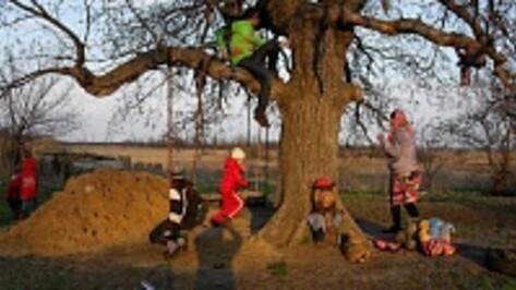 Жители  Подосиновки Новохоперского района сами  благоустраивают  свое село