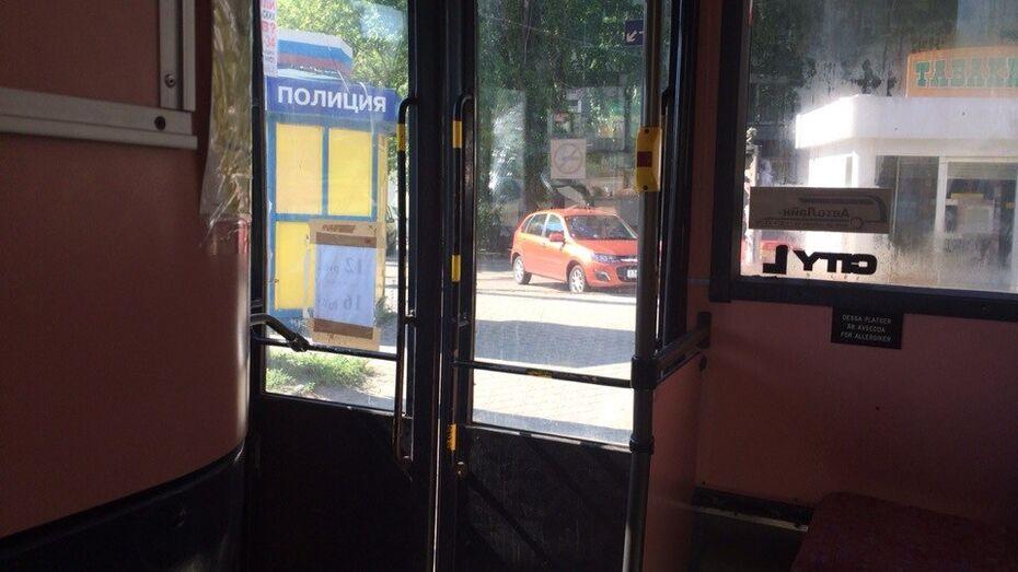 В Воронеже матерщинник ограбил маршрутку