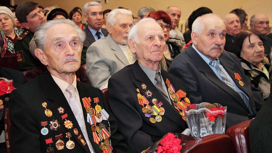 В Панино ветеранов поздравили с Днем защитника Отечества