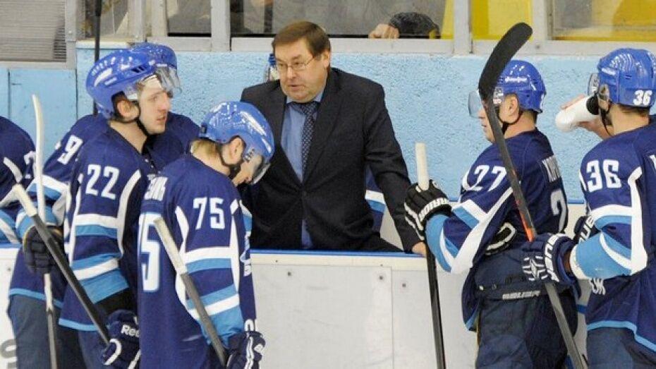 Виктор Богатырев ушел с поста главного тренера воронежского «Бурана»