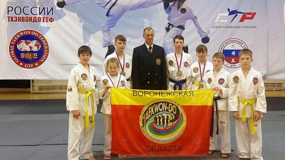 Бутурлиновские тхэквондисты стали призерами на чемпионате страны