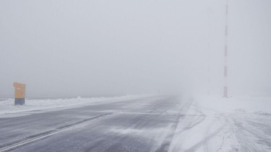 Аэропорт перестал принимать самолеты из-за тумана в Воронеже