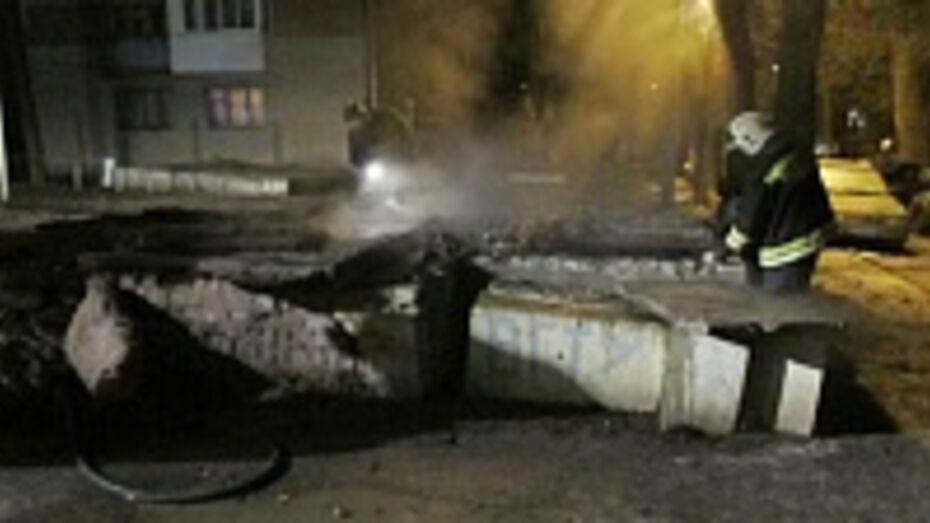 В Воронеже в коллекторе теплотрассы сгорели два человека