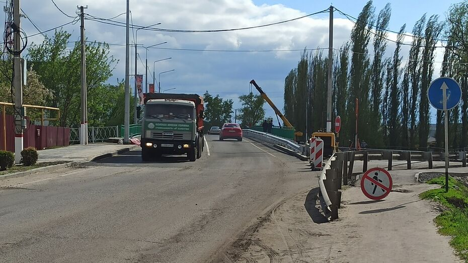 Мост на трассе М-4 «Дон» под Воронежем отремонтировали раньше срока