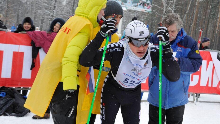 На «Лыжне России-2015» воронежцам подала пример 77-летняя мастер спорта