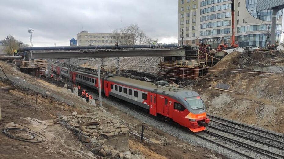 Поезда вернулись на вокзал Воронеж-1