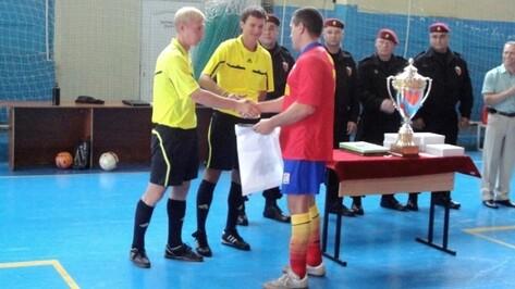 Победителем футбольного турнира воронежских спецподразделений стала команда ФСИН