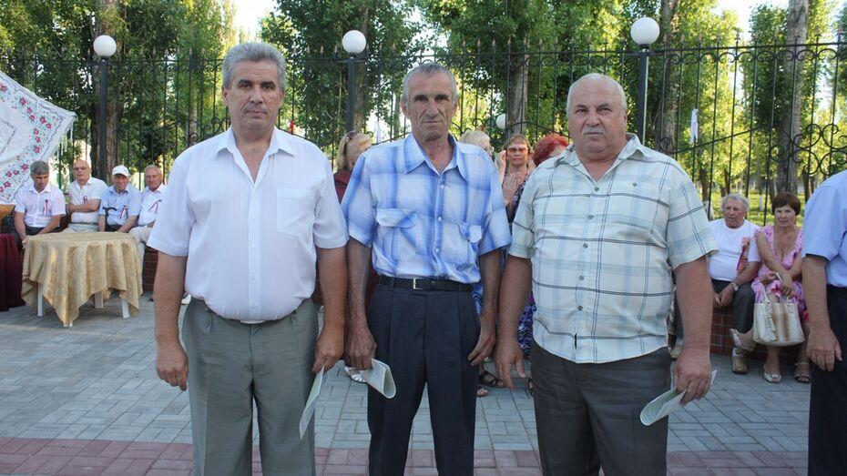 Хохольские ликвидаторы-чернобыльцы получили сертификаты на приобретение жилья