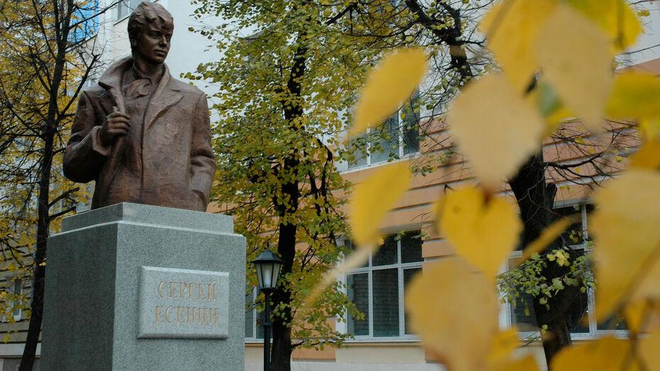 Экспозицию воронежского музея покажут на родине Сергея Есенина