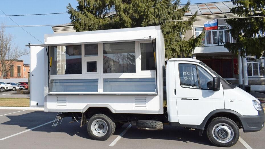 Для жителей отдаленных сел Новоусманского района организуют выездную торговлю
