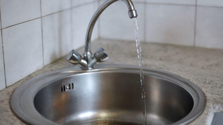 В Воронеже на сутки снизится давление воды в кранах