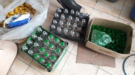 Калачеевец организовал цех по производству суррогатного спиртного в гараже