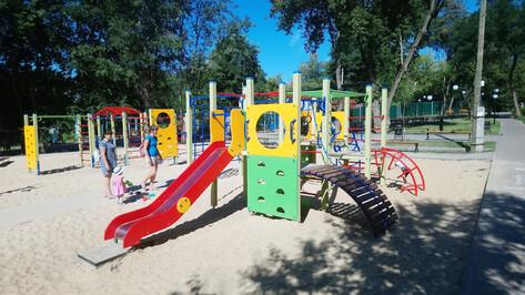 В Воронеже реконструировали сквер «Березка»
