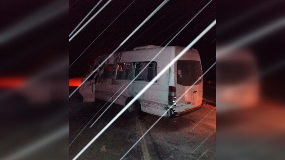 Микроавтобус с пассажирами попал в ДТП на воронежской трассе: 2 погибших