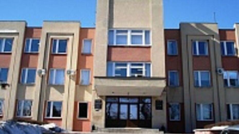 В Новой Усмани едва не сгорело здание администрации района
