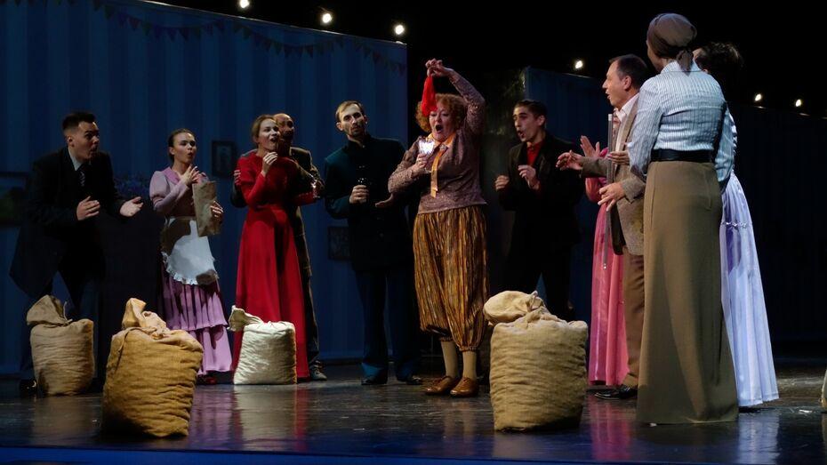 Артисты воронежского драмтеатра проведут для зрителей аукцион