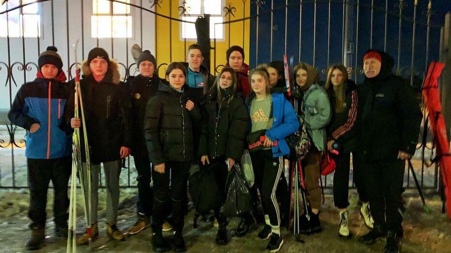 Борисоглебские лыжники завоевали 2 место в областной спартакиаде учащихся