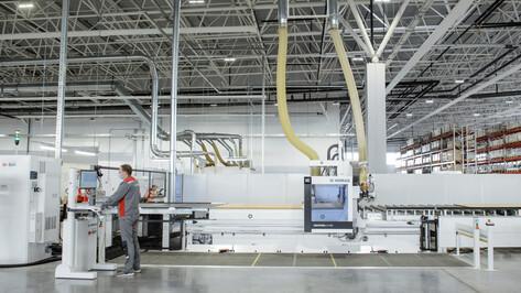 В воронежском индустриальном парке «Масловский» открылась площадка по производству мебели