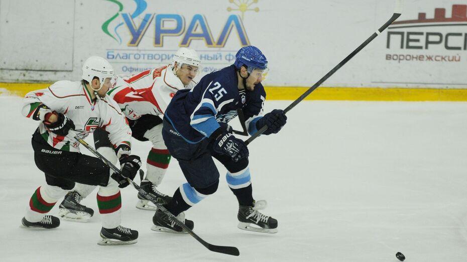 Воронежский «Буран» впервые в сезоне выиграл матч в овертайме