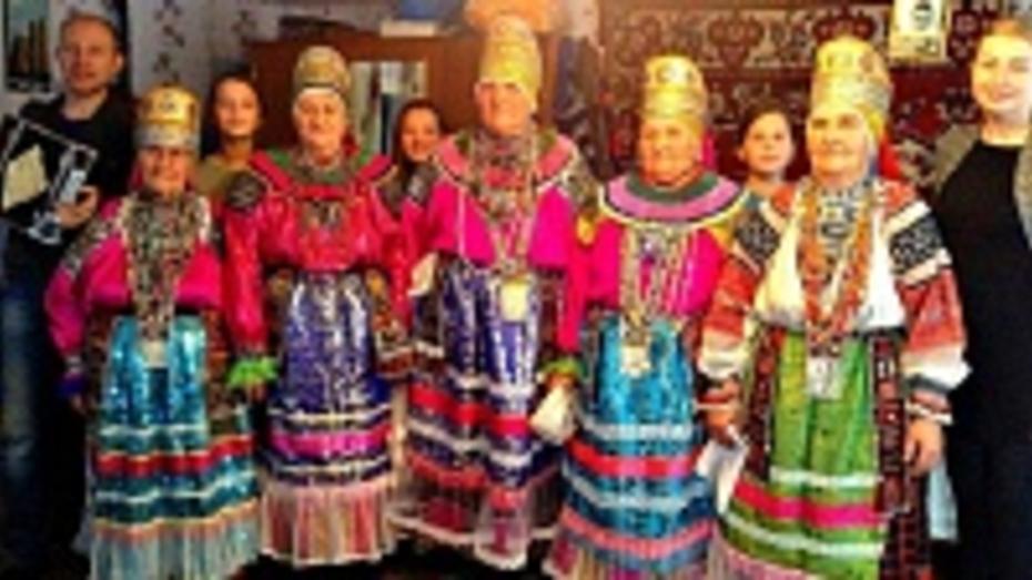 Московские исследователи фольклора посетили бутурлиновские села