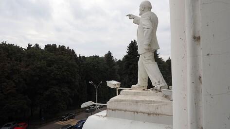 В опросе о замене статуи на входе в Воронежский ГАУ приняли участие 14 тыс человек