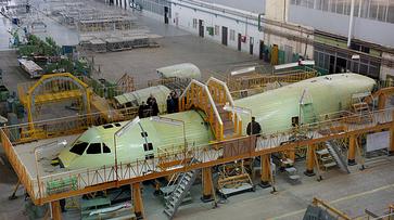 На воронежском авиазаводе собрали фюзеляж первого Ил-112В