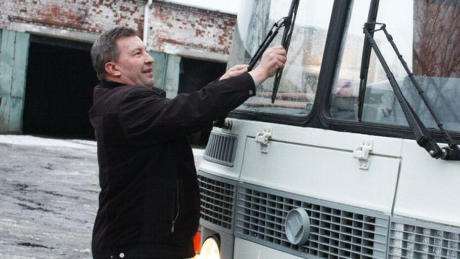 Транспортные предприятия Хохольского района получили два новых автобуса