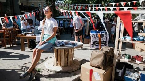Дизайн-маркет пройдет в Воронеже в День города