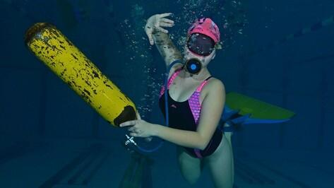 Воронежская спортсменка завоевала 4 медали на Чемпионате Европы по подводному спорту