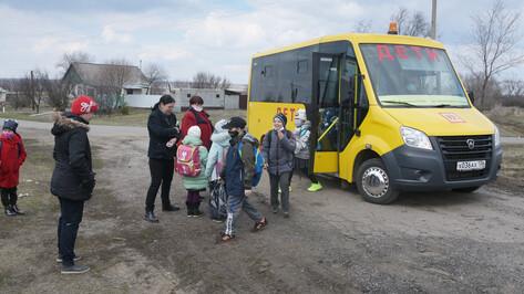 В Воронежской области автобусы будут развозить детей в 371 школу