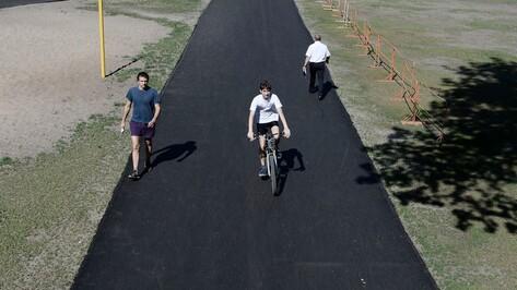 В Воронеже велосипедные дорожки могут появиться даже на водохранилище