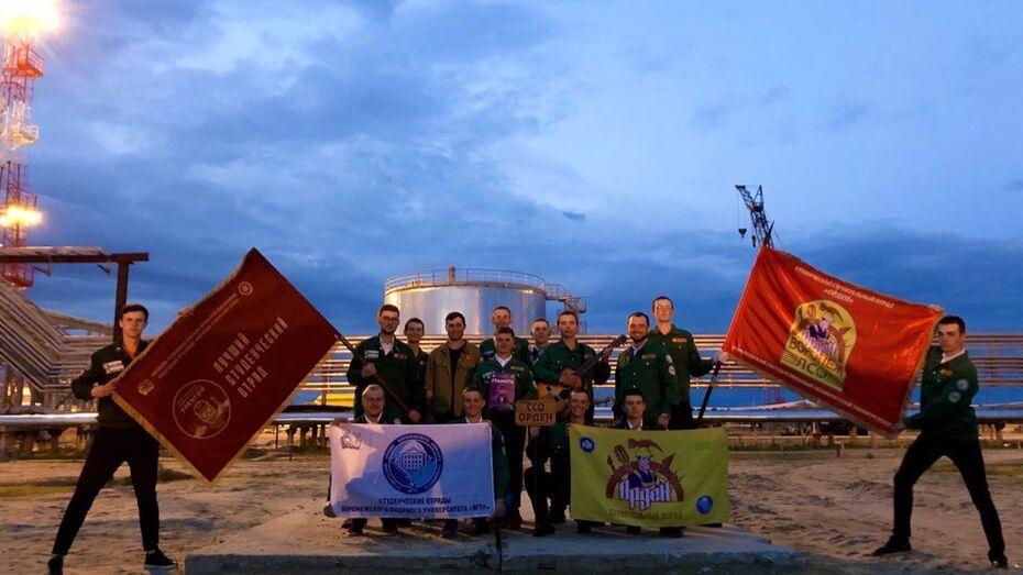 Студотряд ВГТУ стал победителем межрегиональной студенческой стройки