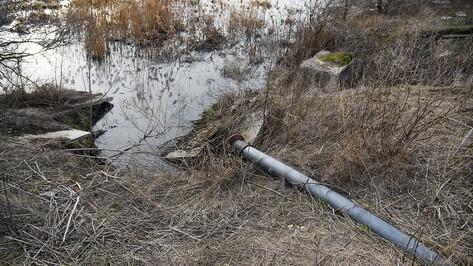 Воронежский департамент экологии нашел нарушения в работе отрадненских очистных сооружений
