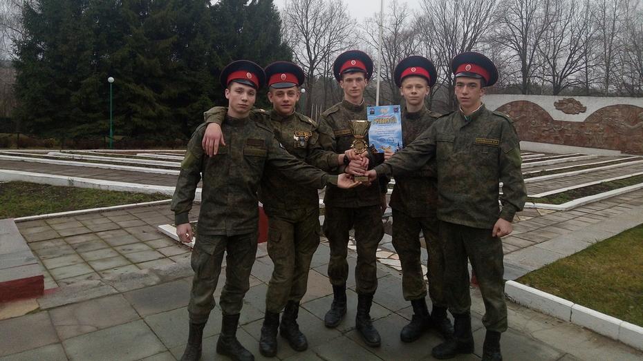 Верхнемамонские кадеты заняли 1-е место в турнире на Кубок Подольского благочиния