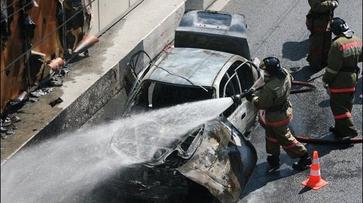 В Воронежской области парень из мести поджег знакомому автовладельцу «Форд Фокус»