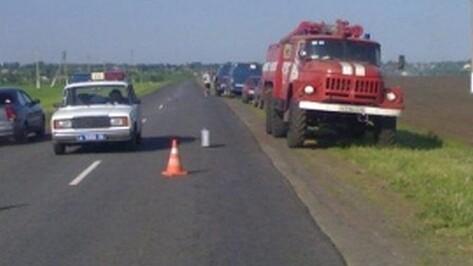 Восемь пассажиров автобуса Воронеж-Курск пострадали в аварии у села Беседино