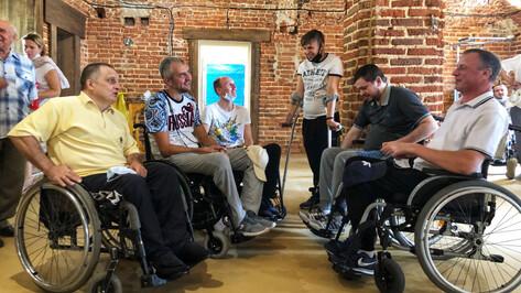 В Воронеже открыли первый инклюзивный спортзал