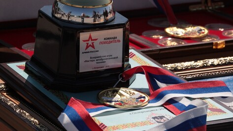 В Воронежской области назвали лучшие команды военных автомобилистов