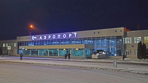 Воронежские автовокзал и аэропорт отменили часть рейсов из-за гололеда