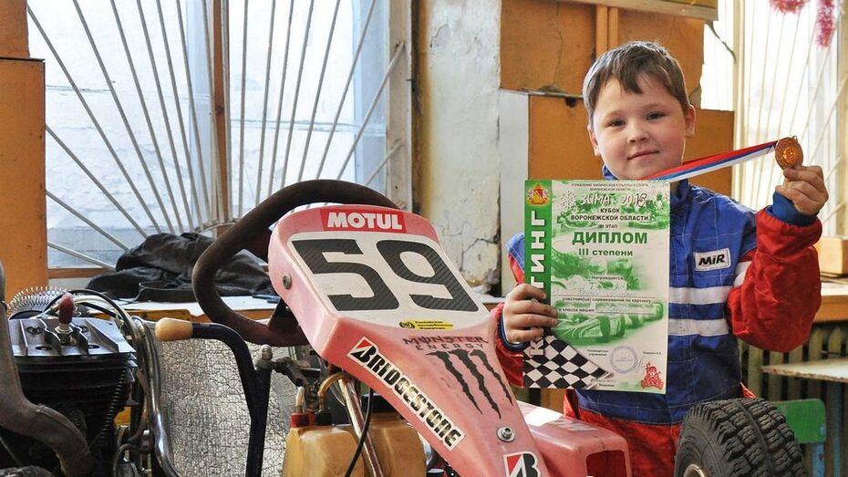 Картингист из Бутурлиновки стал  третьим на Кубке Черноземья