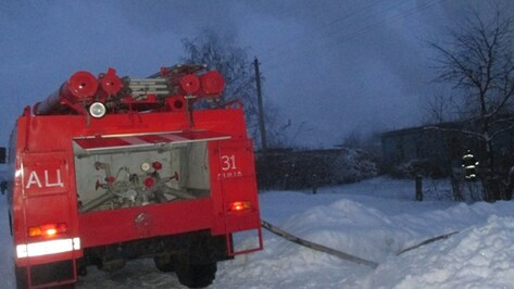 В Воронежской области 63-летний пенсионер погиб после пожара