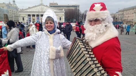 Участники воронежского парада Дедов Морозов остались без подарков