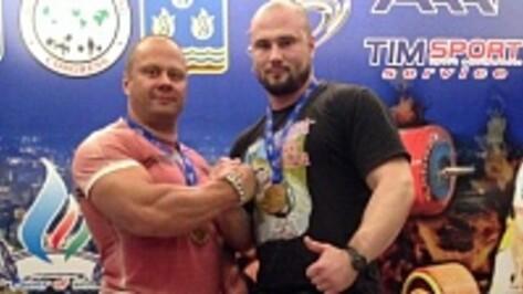 Острогожский спортсмен победил в Чемпионате Европы по силовому троеборью