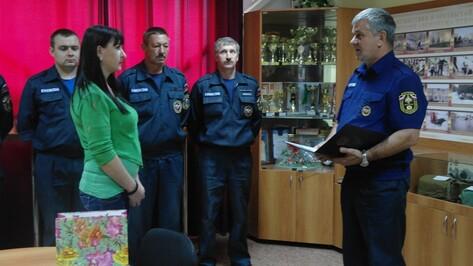 Жительницу Воронежа наградили за помощь в спасении утопающей