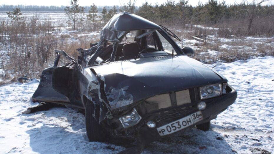 В Ольховатском районе «Ауди» столкнулась с автомобилем дорожной службы