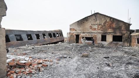 «Пожар не нарушит планы». Как будут восстанавливать Ломовской парк в Воронежской области
